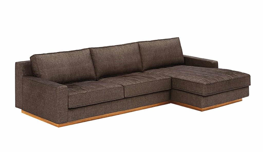 Sofá de Tecido com Chaise CEN-060 3